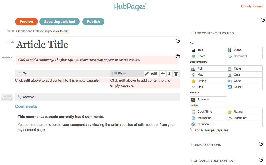 Squidoo and HubPages | HubPages Blog